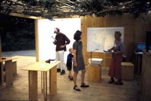 Den første udgave af Oslo lå på Israels Plads i 1999. (Pressefoto)