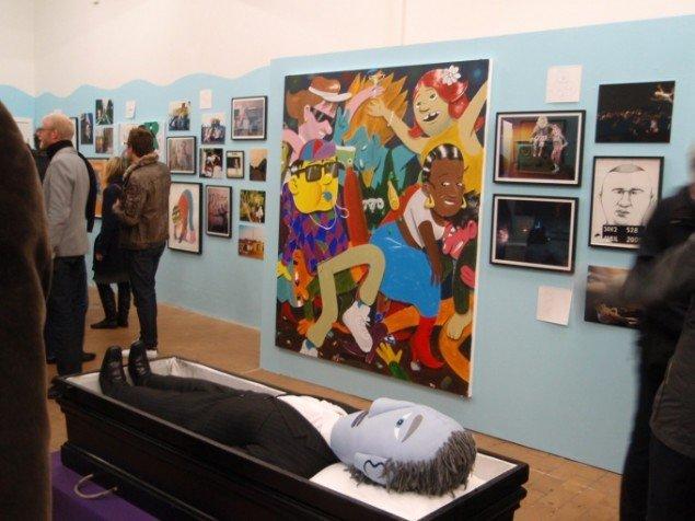 HuskMitNavn på Charlotte Fogh Contemporary. Foto: Anne Mette Thomsen