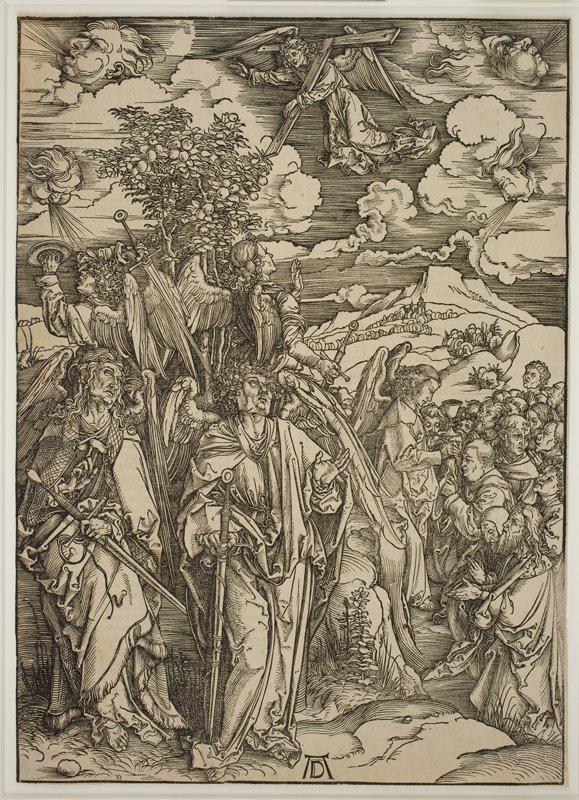 Albrecht Dürers illustrationer til Johannes' Åbenbaring. (SMK Foto)