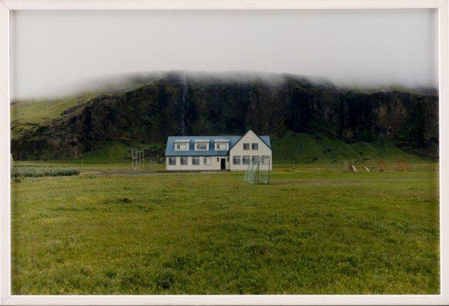 Alt ånder tilsyneladende fred og idyl i Olafur Eliassons fotografier fra Island. (SMK Foto)
