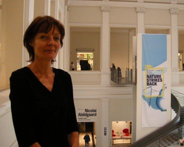 Museumsinspektør Hanne Kolind Poulsen. (Foto: Solveig Lindeskov Andersen)