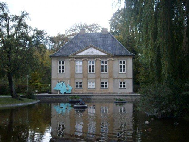 Haverne på Andebakkesøen foran Møstings Hus. Foto: Line Møller Lauritsen