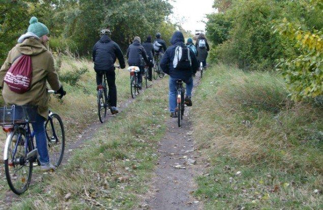 Cykeltur. Foto: Line Møller Lauritsen