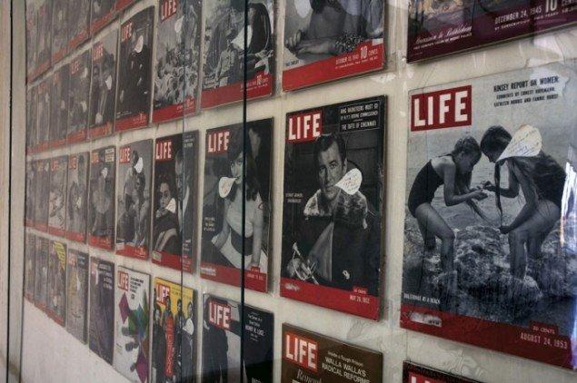 Nam June Paik: Life, 1974-1983. (Foto: Daniel og Gabriel Glid)