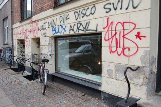 Goloss' facade. (Foto: Amalie Kristine Frederiksen)