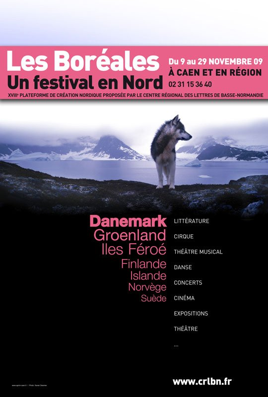 Dette års festival Les Boréales er dedikeret til kunst fra Danmark, Grønland og Færøerne. (Fotokreditering: Xavier Desmier)