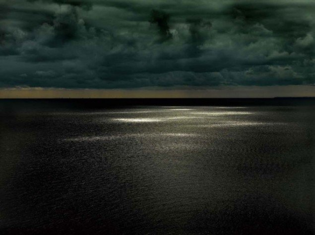 Henrik Saxgren, Sunspots on Sea Surface, Øresund, 2008.