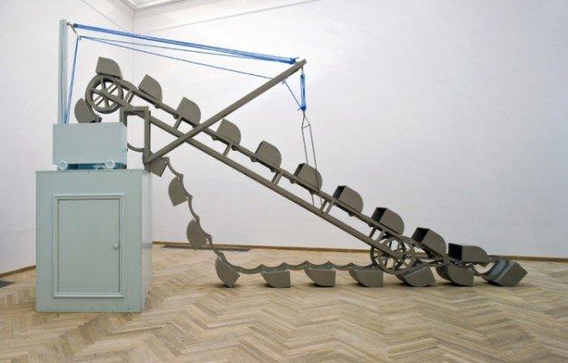 Truls Melin: Rendegraver, 2002 (Installationsview Kunsthal Charlottenborg 2008)