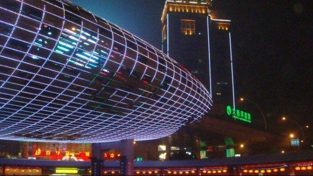 Still fra filmen Shanghai Space