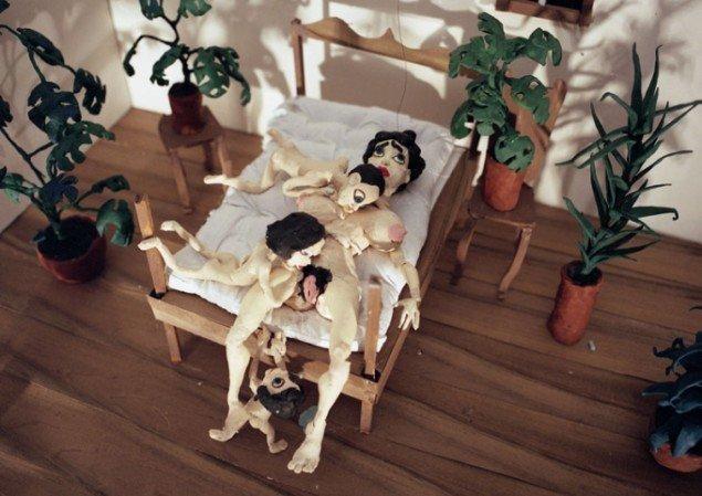 It's the Mother (musik af Hans Berg) 2008. (still fra værket)