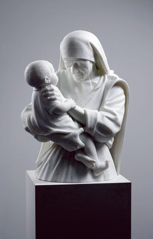 Den strangulerende Mother Theresa, 2004. (Foto: Anders Sune Berg)