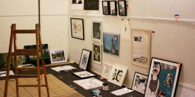 Med initiativet Aktion/Auktion blandede kunsten sig i den offentlige debat. Pressefoto