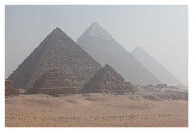 Grafittikunstneren Futuras værk Giza.