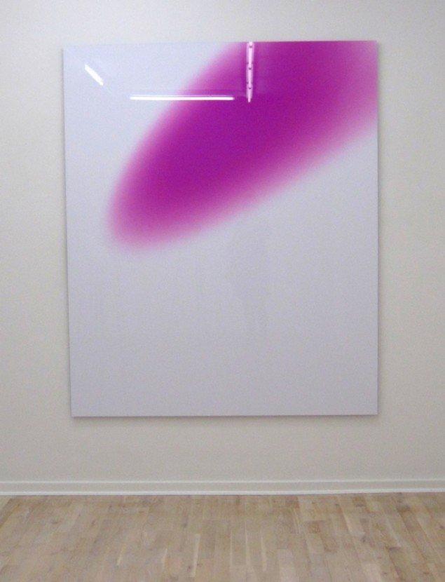 Mads Gamdrups intense farvefingeraftryk. Foto Bonnie Bay Andersen
