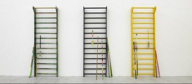 Maiken Bent: Fahrenheit (green), Fahrenheit (yellow), Fahrenheit (black), 2009. Foto: Anders Sune Berg (Beskåret)