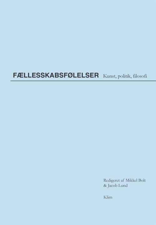 Bogens forside. Foto: Forlaget Klim.