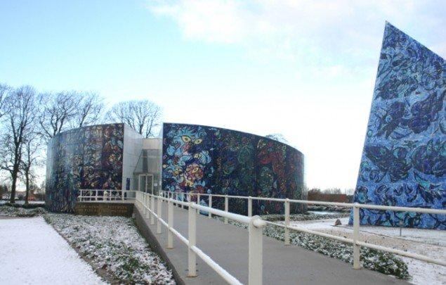 Carl-Henning Pedersen og Else Alfelts Museum. Foto: Kristian Handberg.