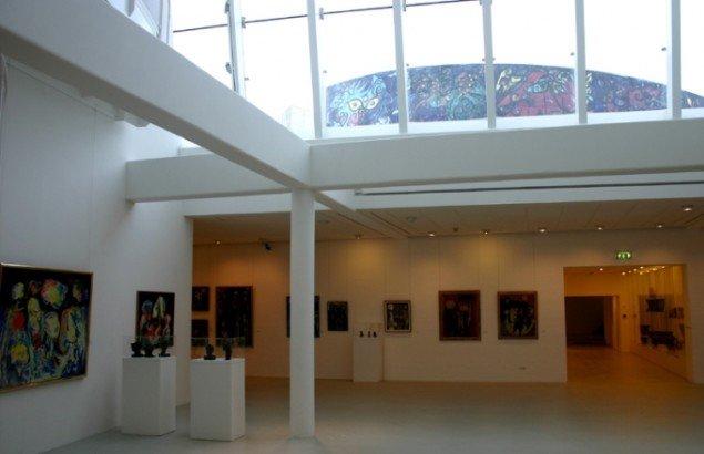 Udstillingen er fint sat op i museets underetage. Foto: Kristian Handberg.