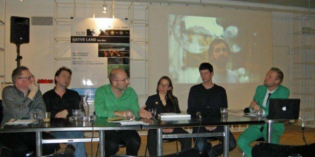 Panelet: Henrik Holm, Frans Jacobi, Torben Sangild, Catja Thystrup og Christian Skovbjerg Jensen. (Foto: Solveig Lindeskov Andersen)