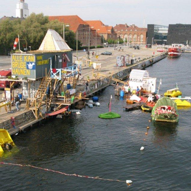 Parfymes projekt under U-TURN i 2008 under titlen: Alle kan bruge havnen. (Foto: Parfyme)