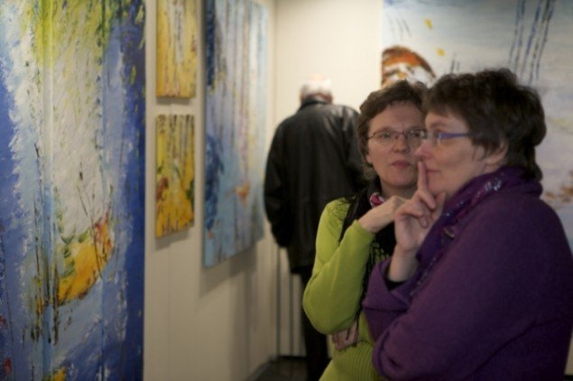 Foto fra sidste års Art Herning messe. Foto: Claus Lavendt