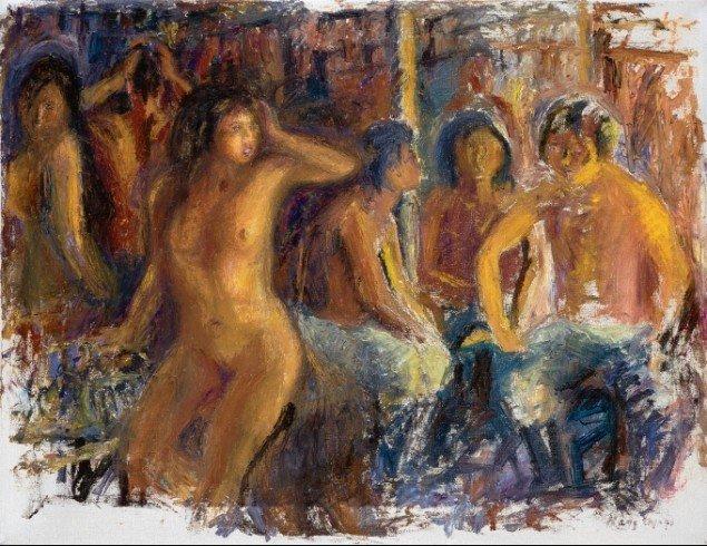Hans Lynge: Naja, 1966.