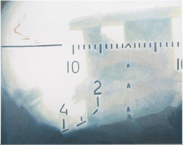 Luc Tuymans, Sniper, 2009 (Pressefoto/Zeno X Gallery, Antwerpen och David Zwirner, New York)