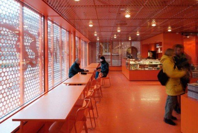 Moderna Museet Malmö Café, 2009 (Foto: Åke E:son Lindman)