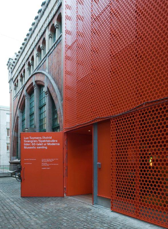 Moderna Museet Malmö Entréen, 2009 (Foto: Åke E:son Lindman)