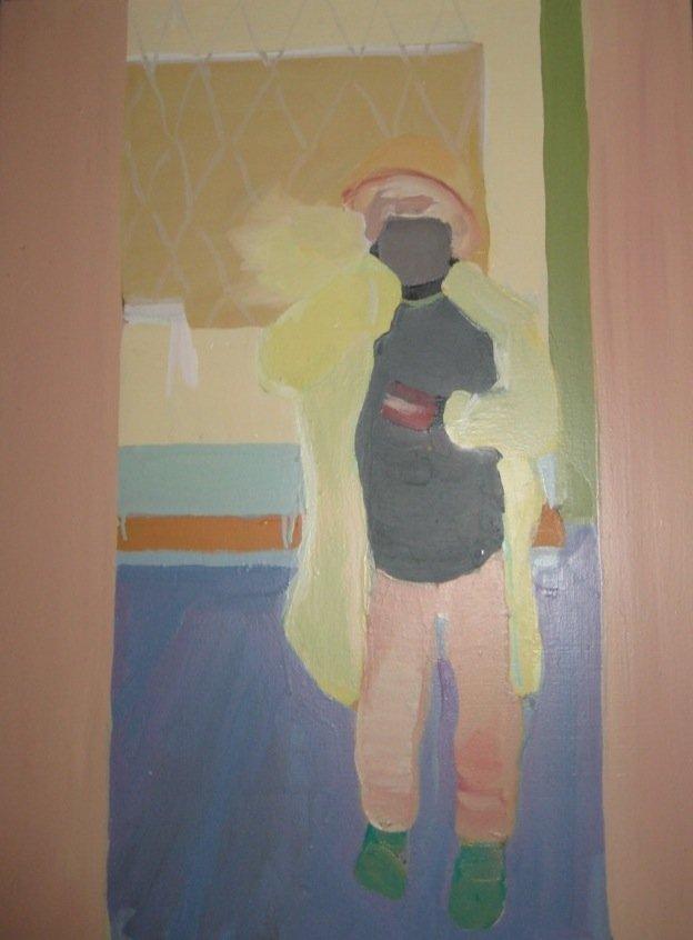Et af Klaus' yndlingsværker malet af Erik A. Frandsen. Foto: Anne Mette Thomsen