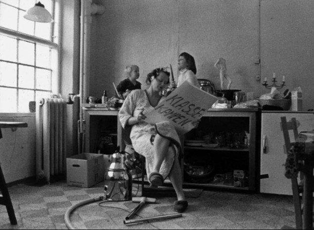 Klassekampen, Kirsten Justesen, 1976. (Pressefoto)