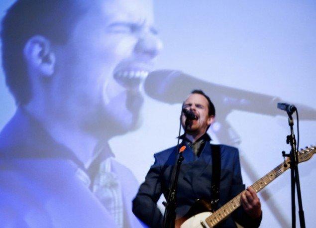 PEER live i Dansk Arkitektur Center under Kulturnatten 2008. (Foto: Peter Hartley)