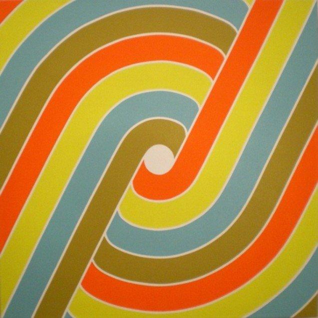 Dorte Lausten, The Tube, 2009, 100 x 100 cm. Foto: Bente Jensen