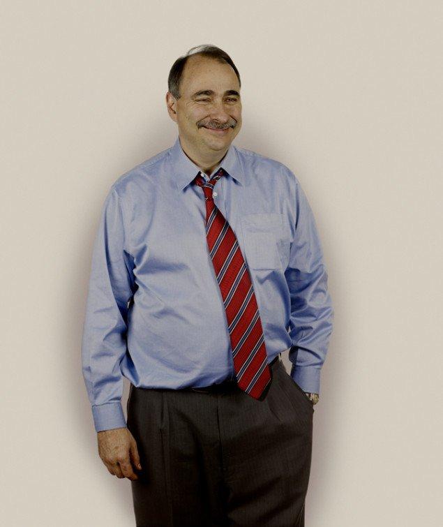 Seniorrådgiver David Axelrod, Nadav Kander, 2009.
