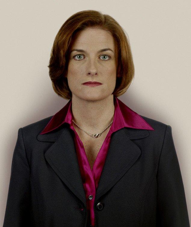 Kommunikationschef Ellen Moran, Nadav Kander, 2009.