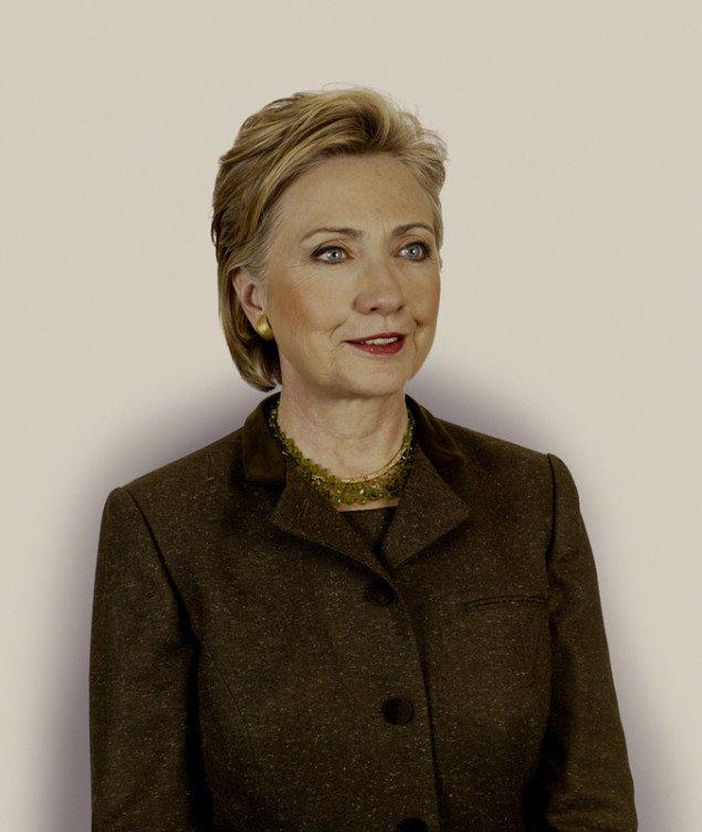 Udenrigsminister Hillary Rodham Clinton, Nadav Kander, 2009.