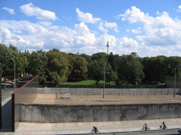 Musealiseret del af Berlinmuren. Fra Dark Tourism Berlin Wall. Pressefoto.