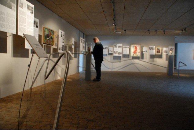 Museum Jorns nye introduktionsrum.Foto: Ole Bak Jakobsen