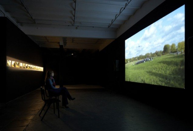 Installationsview, Jakob Jakobsen: Billedpolitik, 2010. (Foto: Anders Sune Berg)