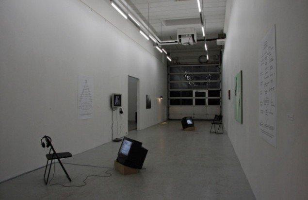 Installationsview(første rum af tre): Julie Galsbo/BKS Garage