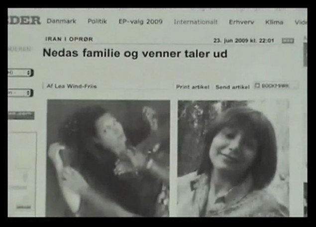 Eva La Cour: Autoetnography , 2009. Video Still.