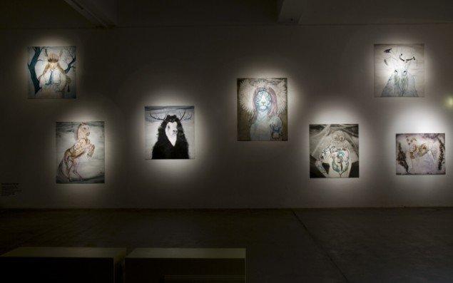 Hannaleena Heiska: installation view, Momentum 2009 – 5. nordiske biennale for samtidskunst. Foto: Terje Holm.
