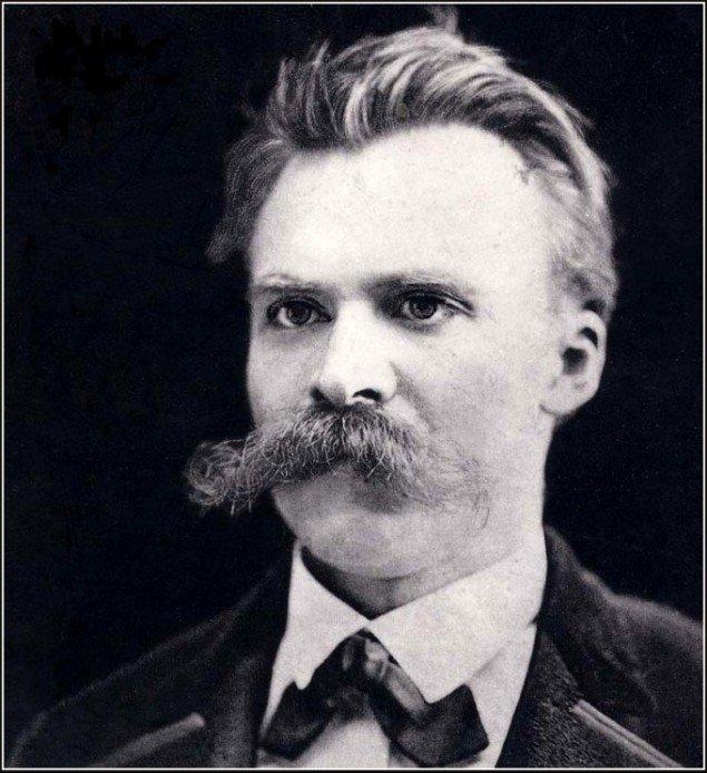 Friedrich Wilhelm Nietzsche (15. oktober 1844 - 25. august 1900), Photography by a Mr F. Hartmann in Basel, 1875.