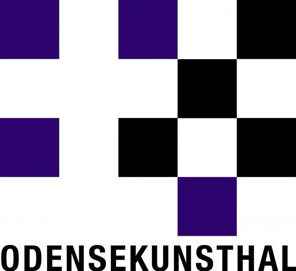 Kunsthallen har fornemt stiliseret logo, der er helt efter reklamebranding-bogen. Pressefoto