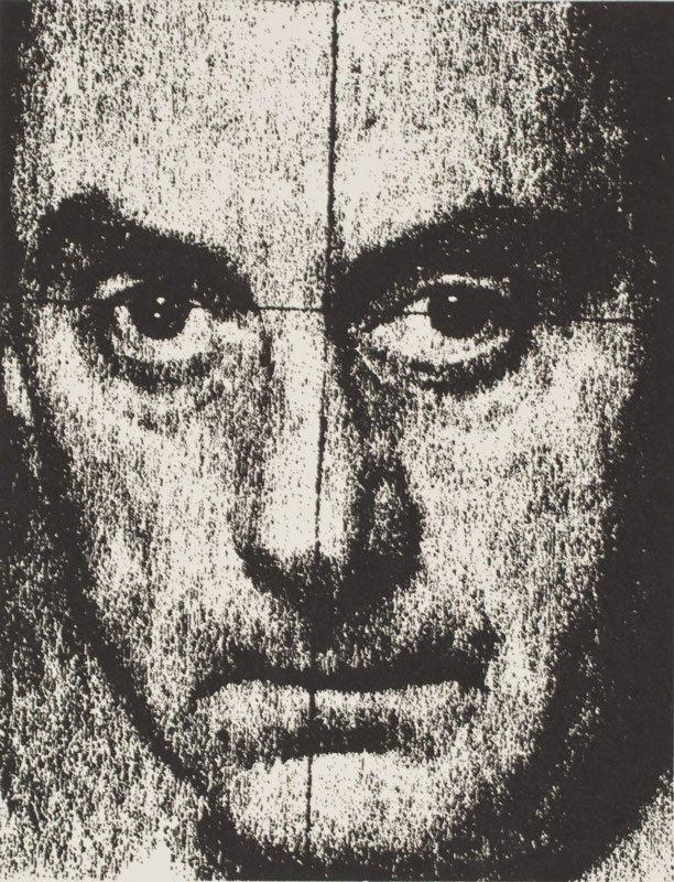 Man Ray: Selvportræt, Den Kongelige Kobberstiksamling 1972
