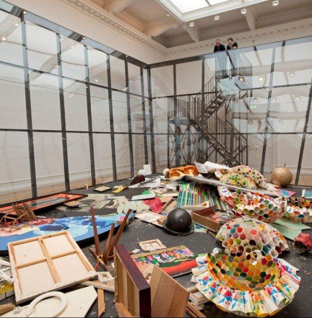 Michael Landy, Art Bin, 2010, South London Gallery. Foto: Andy Stagg