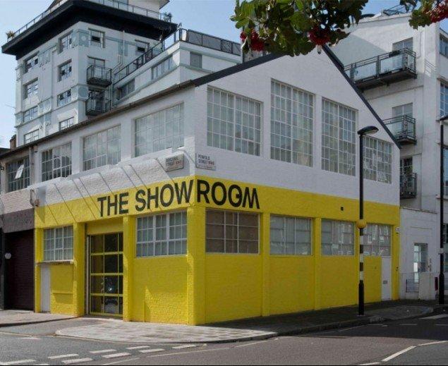 Det progressive udstillingssted Showroos nye faciliteter i vest London, tegnet af ifau + Jesko Fezer og London's Working Architecture Group. Foto: Daniel Brooke