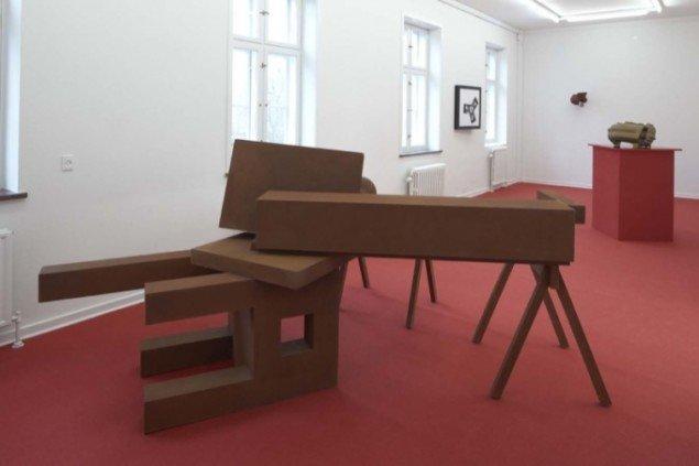 Byen og Kærligheden. View af udstillingsrummet. Foto: Anders Sune Berg