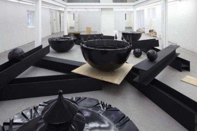 Rummet Byen og Metafysikken under balkonen. Foto: Anders Sune Berg