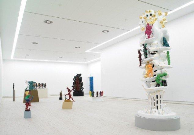 Bjørn Nørgaard, Recycling Art, udstillingsview. Pressefoto.